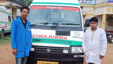 EMT and pilot of 108 Sanjeevani Express set an example of honesty and honesty by returning an amount of Rs 1 lakh to a seriously injured man